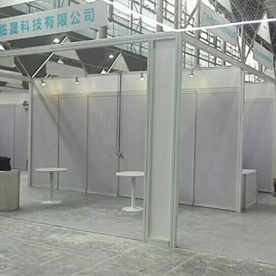 专业展览搭建厂家 异形展架制作 折叠展柜租赁