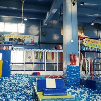淘气堡儿童乐园设备亲子互动大城堡游乐场玩具商场淘气堡定制