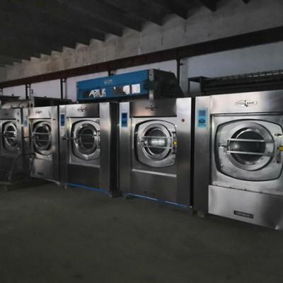 山东潍坊水洗厂二手100公斤水洗机二手海狮水洗机