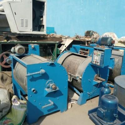 山东聊城二手工业卧式水洗机100公斤的多少钱一台