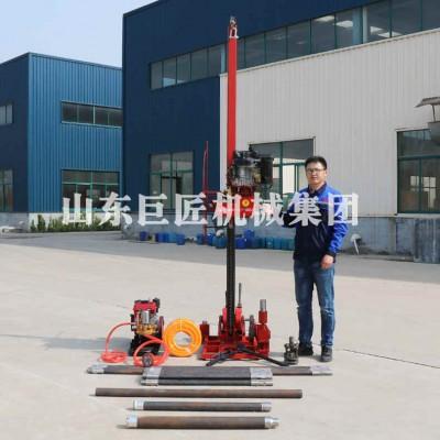 轻便型地质勘探钻机50米深岩芯取样钻机QZ-3工程钻机
