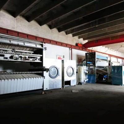 淄博识货的朋友水洗厂二手折叠机多少钱转让二手海狮布草折叠机