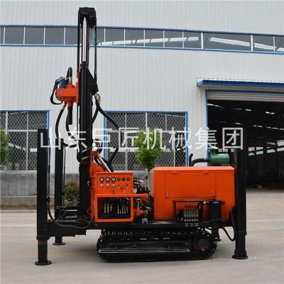 履带式气动钻井机200米气动水井钻车