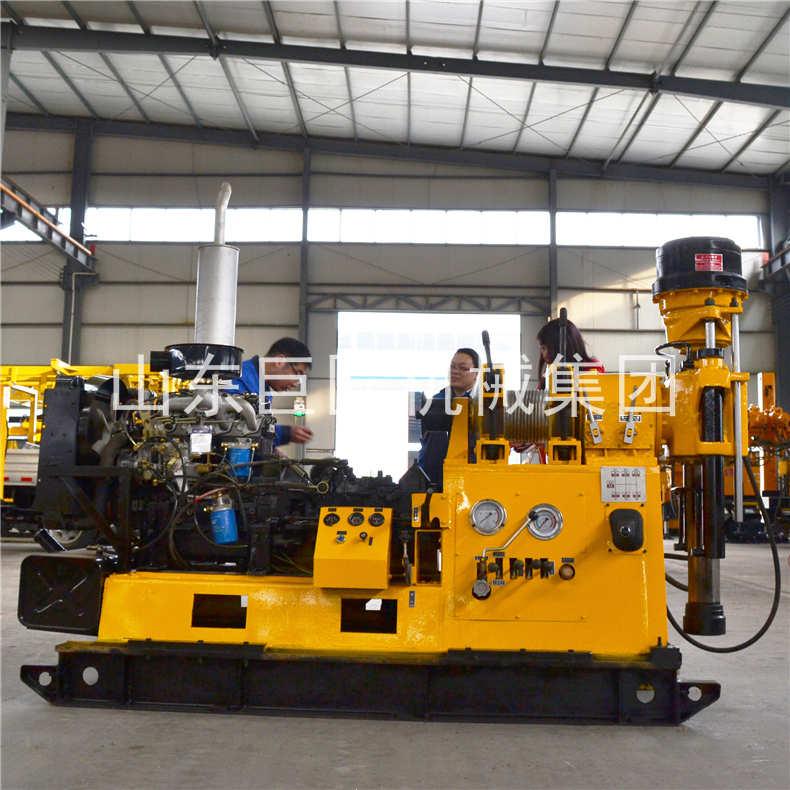 XY-3液压钻机(柴油机动力)2