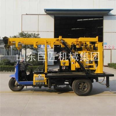 三轮车打井机XYC-200A三轮车载200型水井钻机