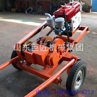 SH30-2A型工程勘察钻机 轮式30勘察钻机