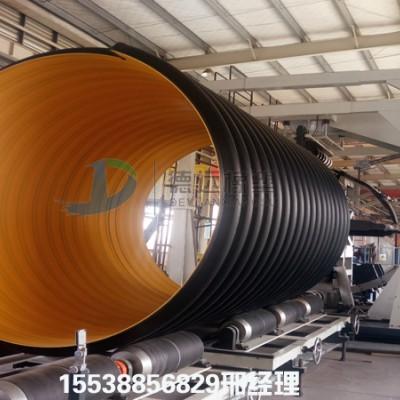 伊川县供应HDPE波纹管 钢带增强波纹管 钢带波纹管