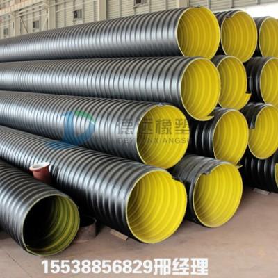 供应济源HDPE钢带波纹管 市政排水管排污管
