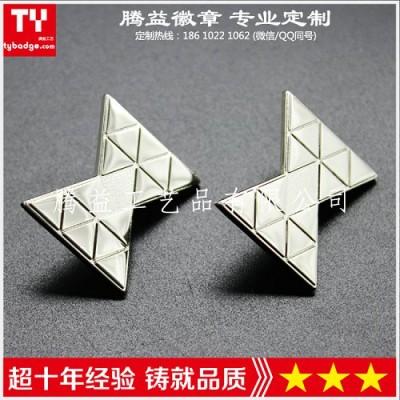 金属徽章设计定制-金属胸章生产厂-金属纪念章工厂