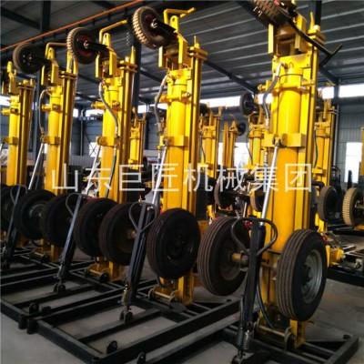 KQZ-180D气动打井机轮式气动水井钻机