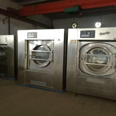 郑州二手布草洗涤设备转让驻马店二手100公斤百强水洗机