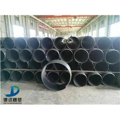 许昌pe钢带增强管价格 500钢带波纹管价格
