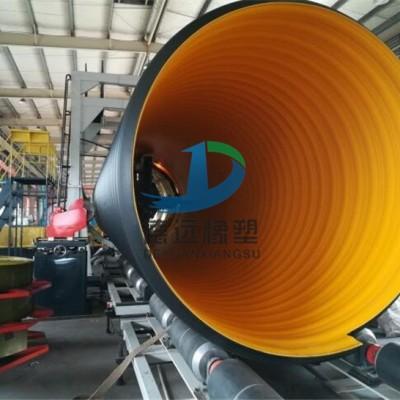 孟津钢带增强螺旋波纹管厂家  PE钢带波纹管产品特点