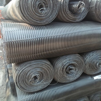 博尔塔拉钢塑土工格栅 云南钢塑格栅 双向拉伸土工网