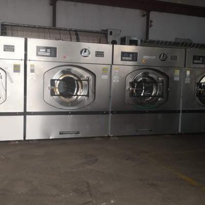渭南出售二手百强川岛100公斤水洗机,工业二手毛巾烘干机