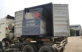 郑州曙光发往美国的800型撕碎机 (78播放)