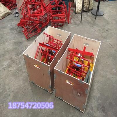 山东淄博小型手摇插秧机 水稻插秧机厂家