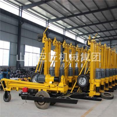 200米水井钻机KQZ-200D气动钻井机