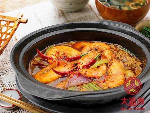 烧汁虾米饭有多少种口味?