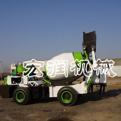 混凝土搅拌车建筑工地   2.6方小型搅拌运输罐车