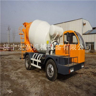 混凝土搅拌机 4方小型混凝土搅拌运输车 混凝土搅拌车