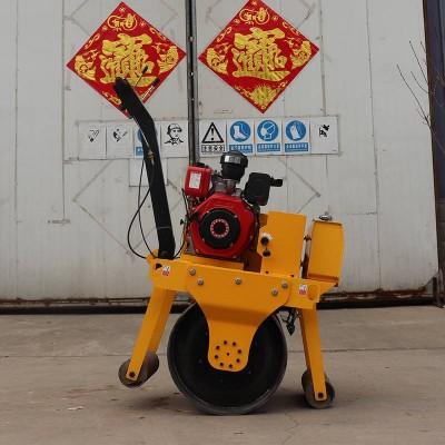 手扶式压路机使用范围 柴油小型震动压土机 水冷压路机