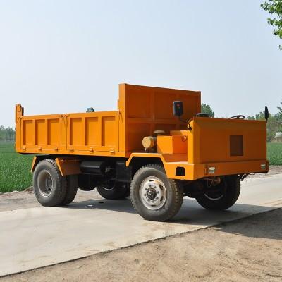 农用拉土四不像车 大马力工程运输车 四不像低速载货车
