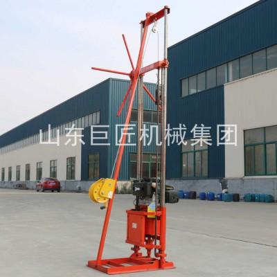 卷扬机款轻便取样钻机QZ-2CS小型勘探钻机