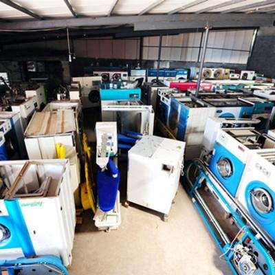 白山二手四氯乙烯干洗机9成新转让二手威特斯干洗机多少钱