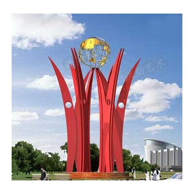 丹东不锈钢雕塑A丹东艺术不锈钢雕塑造型生产厂家