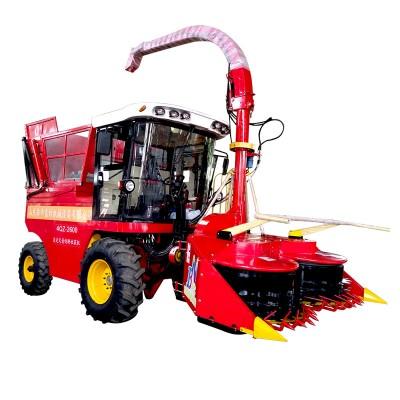 2.6米大型自走式玉米秸秆青贮机价格犇牛籽粒破碎青贮机