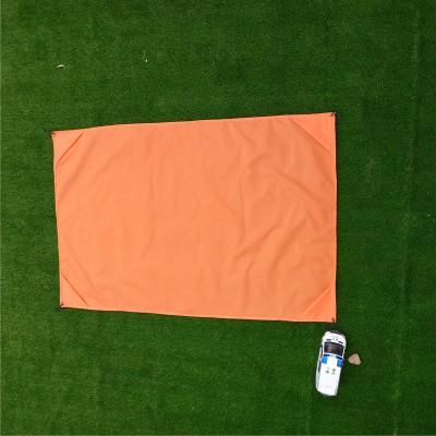 折叠携带 210T格子布防水防潮沙滩垫