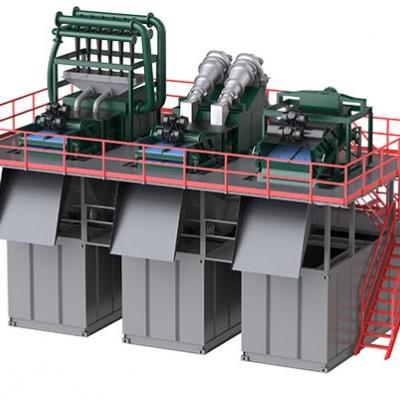 西安科迅KDS-500盾构泥水处理系统