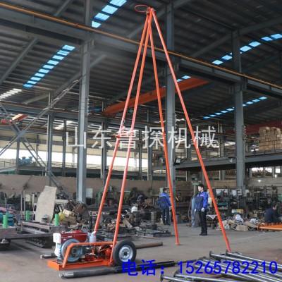 SH30-2A工程地质勘察钻机 砂金探矿取样30勘察钻机