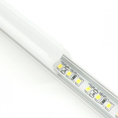 LED层板灯卡8mm厚柜前置铝槽隔板灯