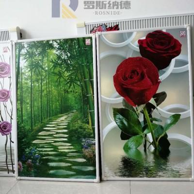 石墨烯环保电取暖碳晶发热板取暖器铝合金艺术墙暖节能电暖画