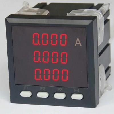 电机宝飞纳得智能三相电流表WD-P76工作原理