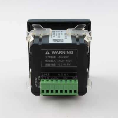 电机宝飞纳得智能三相电压表WB-X76网络事件