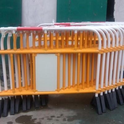 上海塑料铁马栏杆 核电站PVC绝缘护栏 发电厂化工厂铁马护栏