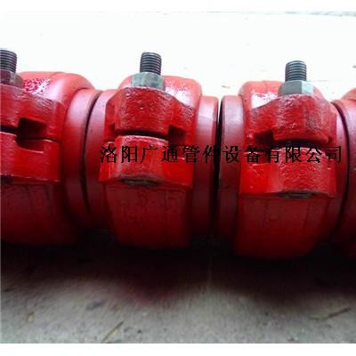 泵阀管道卡箍管件DSSL/DSJA对开式伸缩接头