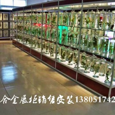 南京玻璃展柜加工定制