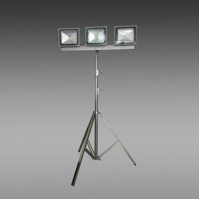 便携式升降工作灯 升降照明灯 手动升降照明灯