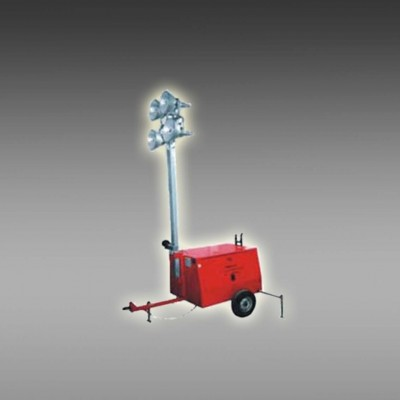 拖拉式移动照明灯塔 拖车式照明车 大功率高杆发电照明车