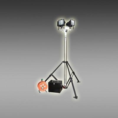 全方位遥控自动升降泛光灯 夜间施工照明车 抢险照明车