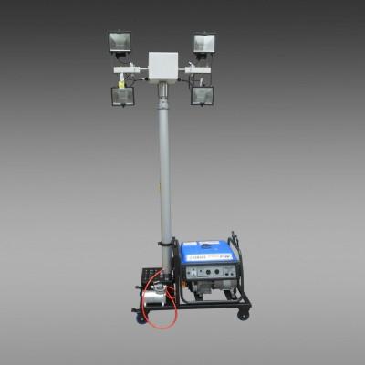 全方位遥控自动升降工作灯 全方位移动照明车 发电机照明车